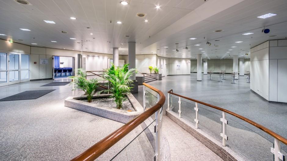 Foyer Area News : Congress center essen cc south foyer